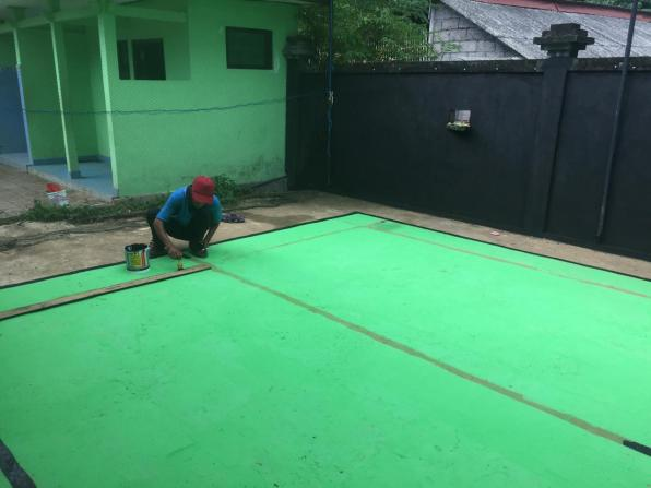 Badminton court 4